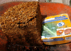 coconut shell mulch