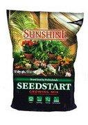 soil less mix, germinating soil